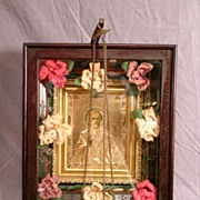 19th Century Victorian Framed Russian Icon