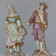 Very Fine Pair of European Figural Statues