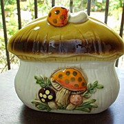 Merry Mushroom 1978 Napkin Holder
