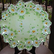 Pretty Daises Decorative  Plate