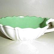 Anchor Hocking Mint Color Creamer *1938-1940