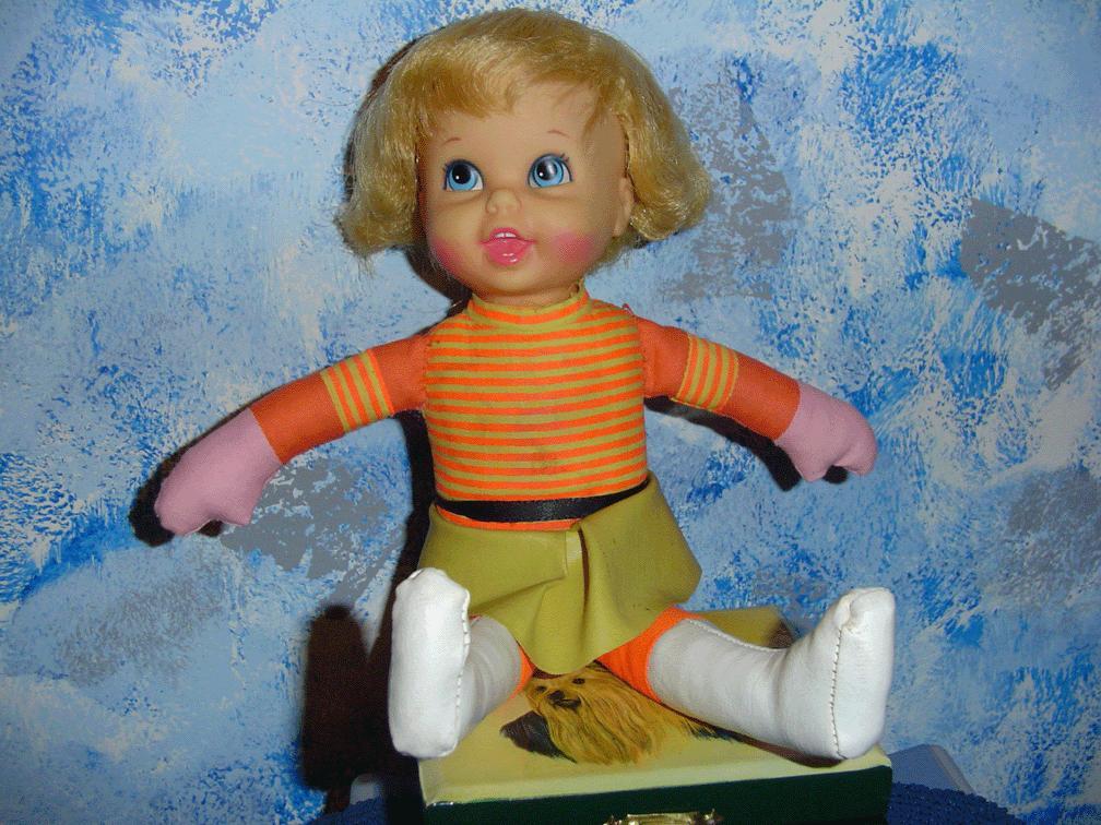 1967 'Talking Twin'  Doll by Mattel