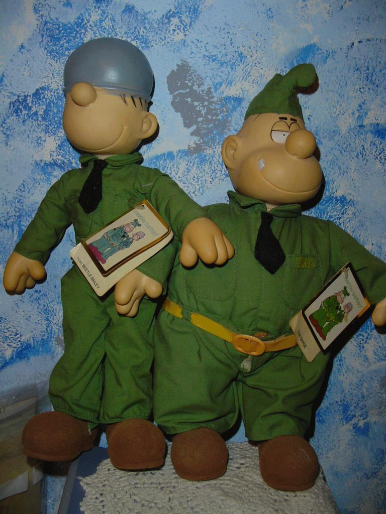 King Features Beetle Bailey Sarge Doll with Tags