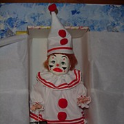 1979 Effanbee Faith Wick Girl Clown Doll MINT!