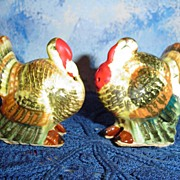 Mr. & Mrs. Turkey Shakers