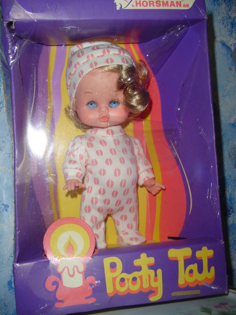 Horsman 'Potty Tat' Doll *MINT