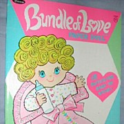 1959 ' Bundle of Love ' Uneeda Paper Dolls *Uncut