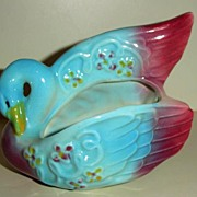 Swan Pottery Planter