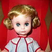 "1964  Uneeda 15"" Coquette Doll in Box"