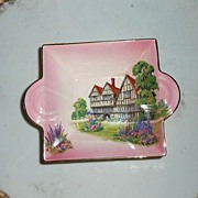 Royal Winton  English Old  Country Houses Square Dish