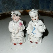 Cute Set of Chinese Boy and Girl Shakers