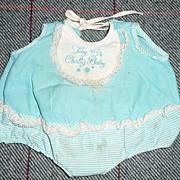 Mattel  1960's Tiny Chatty Baby Romper