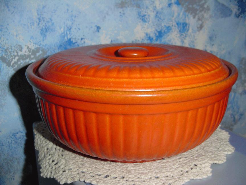 Vintage Pottery Casserole