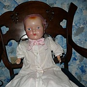 Primitive Huge Composition Baby Girl Doll