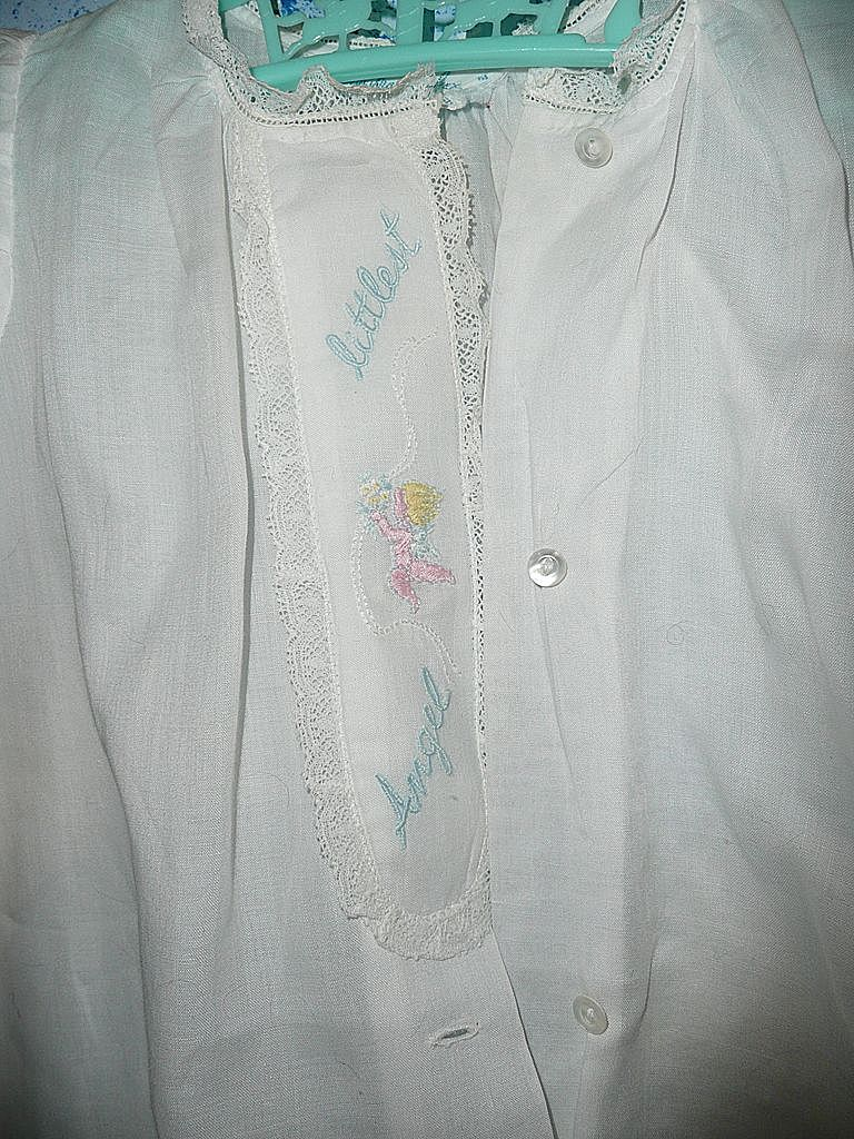 Vintage 'Littlest Angel' Baby Clothes