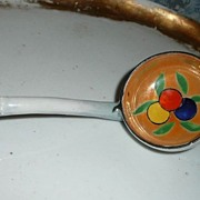 Vintage  Porcelain Marmalade Spoon