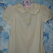 Beautiful  Vintage  Baby Dress for Composition Doll