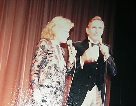 Cuban Singers  Olga y Tony Anniversary Concert Picture in Miami