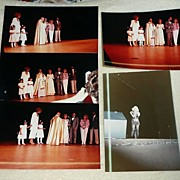 Lot of 5 Pictures from Anniversary Concert of Cuban Singers Olga y Tony