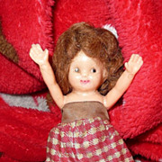 Vintage Hard Plastic 'IRWIN' Doll Made in USA