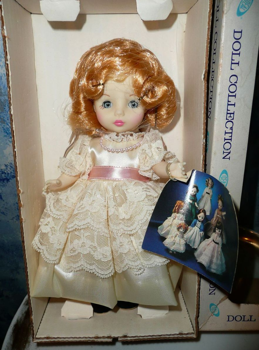 1983  Blonde Hair  Doll from Ideal ' Victorian Ladies Doll Collection'*NIB