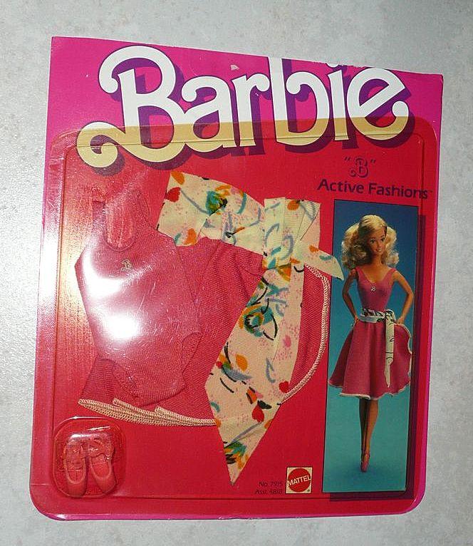 1984 Barbie Active Fashion #7915  *NIB