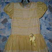Beautiful Hand-Made Dress for Patty Playpal