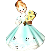 Josef Originals March Aquamarine Birthday Girl