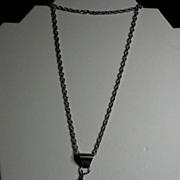 SALE Vintage Sterling Silver & Created Opal Gecko Pendant, signed