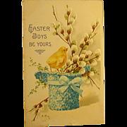 Easter Postcard, Pre-WWI, Printed in Germany, Sweet!