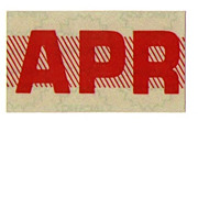 Old California Red Month Sticker April