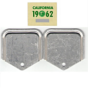 Old 1962 California Sticker with YOM Attachments