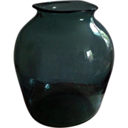 Giant Antique 19th century American Blown Glass Vase