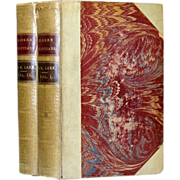 Edward William Lane's An Account of the Manners and Customs of the Modern Egyptians- 1836 - Fine Binding 19th century Book