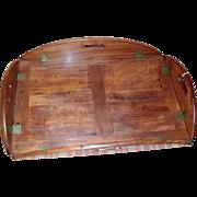 Good 19th c. Regency Mahogany Butler's Tray