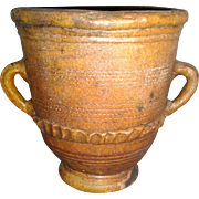 19th century Antique French Handles Flower Pot Urn