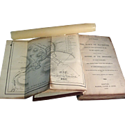 19th c. Native American Indian Book: The History of the Town of Plymouth, Massachusetts 1835 w