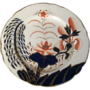 Early 19th c. Spode Imari Porcelain 2214 Banana Tree Pattern Dish - 1810