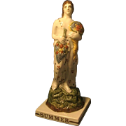 Antique 18th century Staffordshire Pearlware Figure of Summer