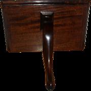 Antique Early 19th century George III mahogany Wall Bracket Shelf