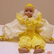 Hand Painted Porcelain Artist Doll (Pierette)....