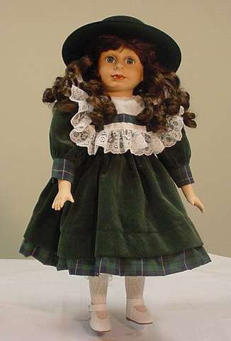 Porcelain Doll from the Wimbledon Collection