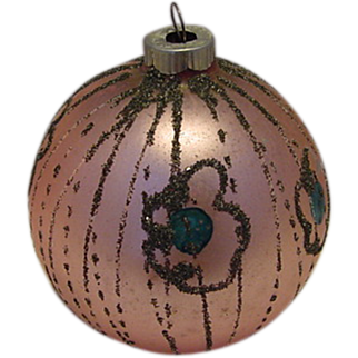 SALE Pink Shiny Brite Germany Christmas Tree Ornament