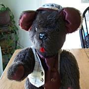 """Knickerbocker Brown 16"""" Teddy Bear"""