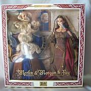 Ken & Barbie As Merlin & Morgan Le Fay Mattel  Giftset