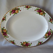 Royal Albert Old Country Rose Platter England
