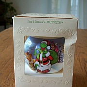 SALE Hallmark Satin Ornament Muppets 1981