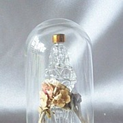Gone With The Wind Perfume Bottle With Glass Dome