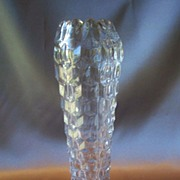 American Fostoria Crystal Cupped Vase