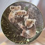 Royal Doulton Koala Bears Collector Plate